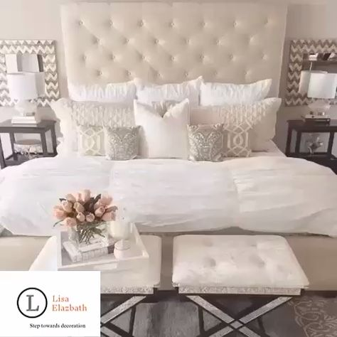 Decorate Your Bed Tips By | Lisa Elazbath Follow My Account For More Interesting Tips