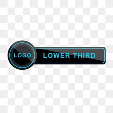 Tv News Video Bar Lower Third Black Blue Social Media Png Transparent Clipart Image And Psd File For Free Download Lower Thirds Tv News Clip Art