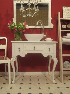 Ein Badmöbel Landhaus zum Verlieben und für mindestens zwei Personen - badezimmermöbel holz landhaus