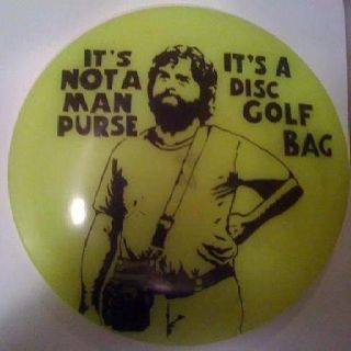 Disc golf #WANT !!--All the guys have one!! gals too!