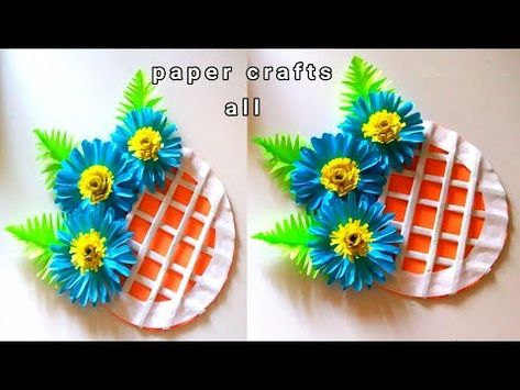 Room Decoration Handmade Paper Flower Wall Decoration At Home
