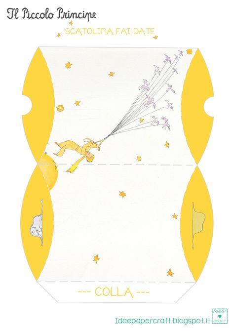 Toy-A-Day: Day 213: The Little Prince (Le Petit Prince) | Stationary ...