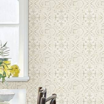 Dark Floral Oil Painting Peony Flower Textured Wall Mural Geometric Wallpaper Spanish Tile Brick Wallpaper Roll