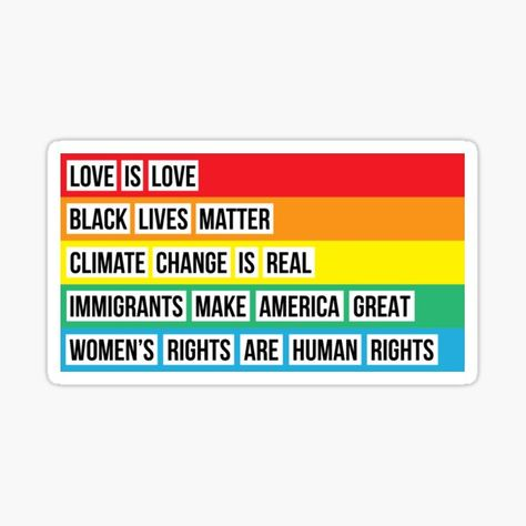 Black Lives Matter Stickers | Redbubble