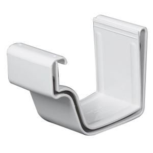 Amerimax Home Products White Vinyl K Style Joiner M0608 The Home Depot In 2020 White Vinyl Vinyl Pieces Joiner