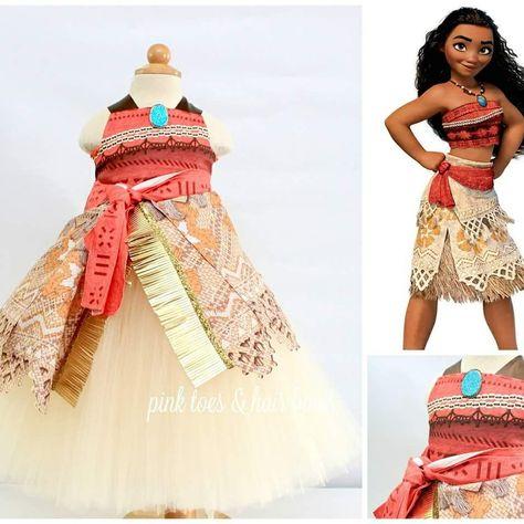 Moana Dress Moana costume Moana tutu dress-Moana party-Moana