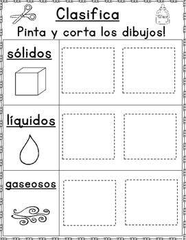 Los Estados De La Materia Clasificando Solidos Liquidos Y Gaseosos Estados De La Materia Materiales Y Sus Propiedades Ciencia De Los Materiales
