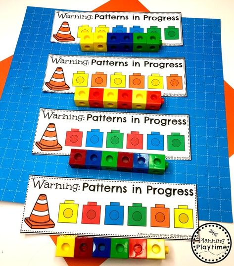 Preschool Construction Theme - Planning Playtime