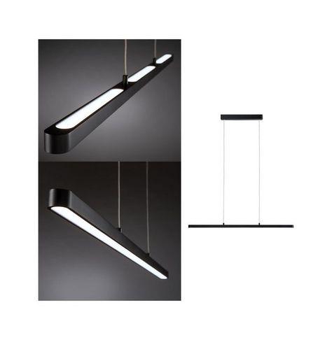 LED Pendel Leuchte dimmbar Ess Wohn Schlaf Zimmer Hänge Lampe höhenverstellbar
