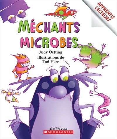 Mechants Microbes Judy Detting Tad Herr Microbes Baby Education Forest School