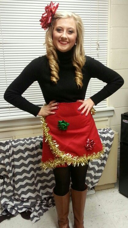 My tacky Christmas dress ❤ | Tacky Christmas | Pinterest | Tacky ...