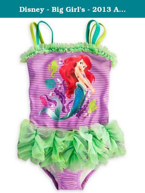 Disney Princess Big Girls Ariel Swimsuit
