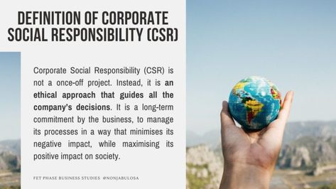 Describe the Differences Between CSR and CSI