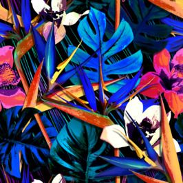 Colourful Tropical Pattern