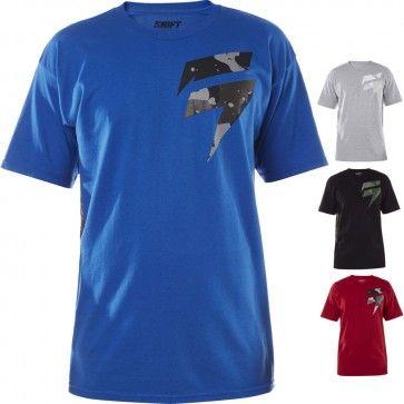 Short Sleeve MX Motocross Graphic Tee Mens Fox Racing Honda T-Shirt