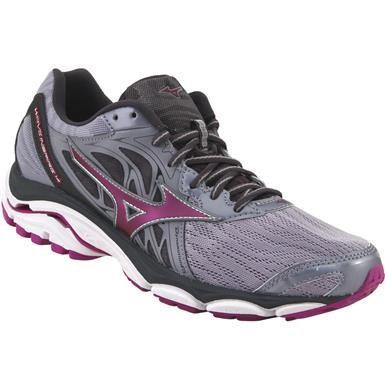 Mizuno Wave Inspire 14 Running Shoes Womens Silver Womens Athletic Shoes Womens Sneakers Womens Running Shoes