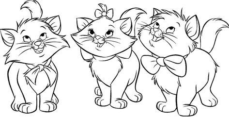 19 Ideas De Gatos Colorear Pintar Gatito Para Colorear Gatos Dibujos De Gatos Imagenes de gatitos para imprimir gastatuajes. 19 ideas de gatos colorear pintar