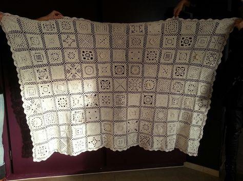 Mijn grannny deken van 2014