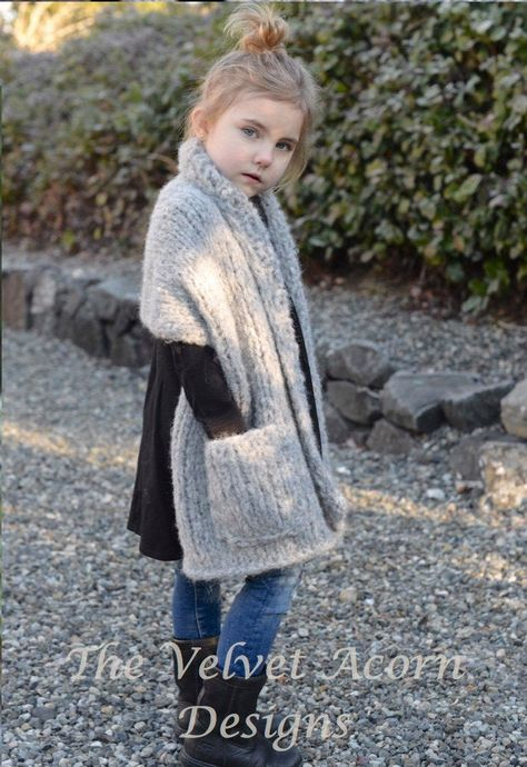 Knitting PATTERN-The Elmy Wrap 2/3 4/6 7/9 10/12 14/16 | Etsy