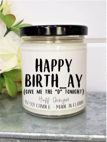 Birthday Gift for him soy candle / Birthday Gift for Fiance / Birthday Gift for Husband / Birthday Gift for Boyfriend Creative Gifts For Boyfriend, Cute Boyfriend Gifts, Gifts For Fiance, Bf Gifts, Diy Gifts For Dad, Boyfriend Presents, Gift For Sister, Present For Husband, Best Friend Gifts