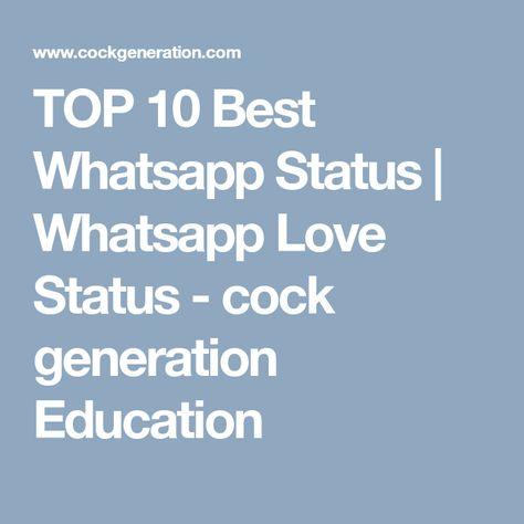 Top 10 Best Whatsapp Status Love Status Love Status