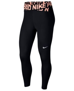Nike Pro Crossover Waistband Ankle Leggings Black S - Leggings Black - Ideas of Leggings Black - Nike Pro Crossover Waistband Ankle Leggings Black S Nike Pro Outfit, Cute Nike Outfits, Cute Workout Outfits, Cute Lazy Outfits, Workout Attire, Sporty Outfits, Teen Fashion Outfits, Athletic Outfits, Mode Outfits