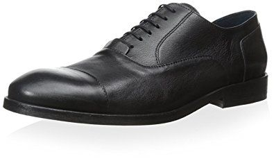 UNbox Mens Real Leather Brogue Style Oxford Shoes