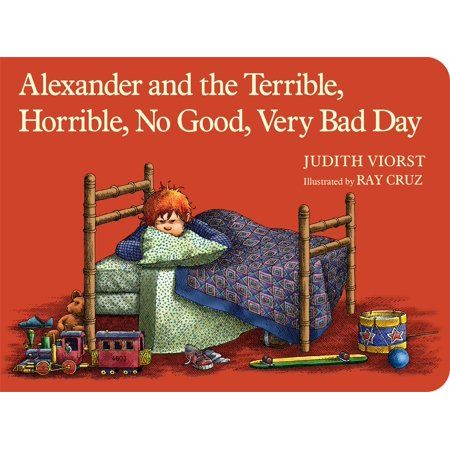 Alexander And The Terrible Horrible No G Board Book Walmart Com Best Children Books Picture Book Childrens Books