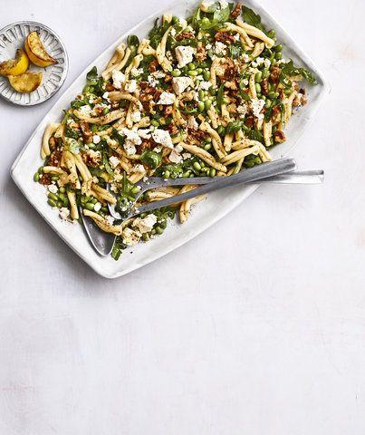 Edamame Pasta Salad Recipe With Images Edamame Pasta Pasta
