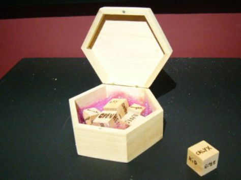 Cleromancy Poetry Game by Michelle Detorie on show in Brussels