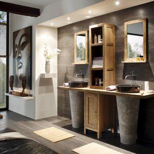 Badezimmer Deko Asia Wohnung Gestalten Wohnung Einrichten Bad Set