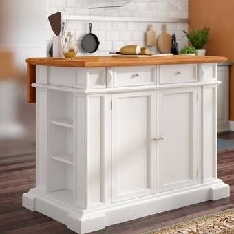 Harris Kitchen Island With Granite Top In 2020 Kitchen Island With Granite Top Darby Home Co Kitchen Island Cart