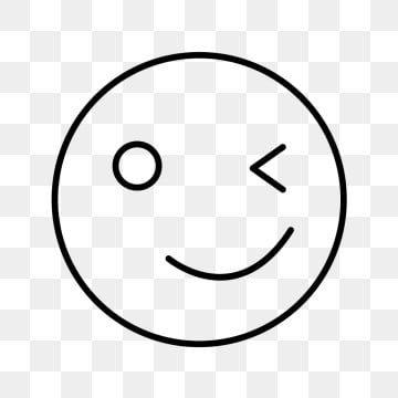 Vector Wink Emoji Icon Emoji Icons Wink Emoji Png And Vector With Transparent Background For Free Download Symbol Design Icon Set Design Winking Emoji