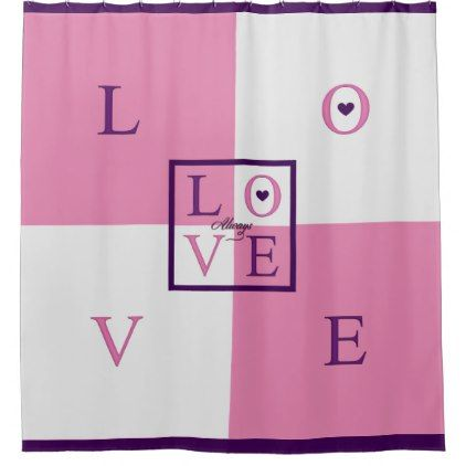 Always Love Shower Curtain Saint Valentine S Day Gift Idea
