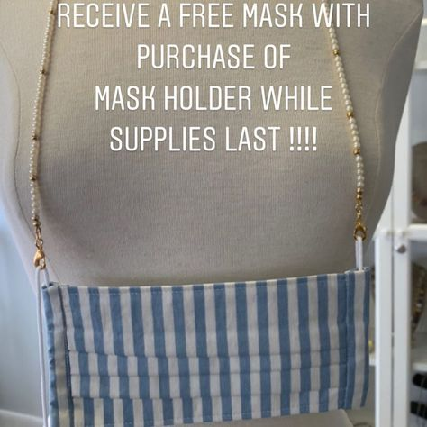 """Gems 4 Jewels LLC on Instagram: """"Receive a free mask with the purchase of a mask holder while supplies last . #gems4jewels #gems4jewelsllc #maskholders"""""""