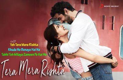 Tera Mera Rishta Lyrics Jalebi Varun Rhea Tanishk Bagchi Lagu