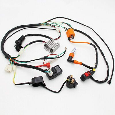 eBay Advertit) Electric Wiring Harness Loom Fit For ATV ... on