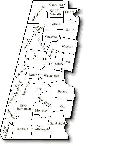 Map Of Berkshires Ma : berkshires, Berkshire, County, County,, Berkshires,