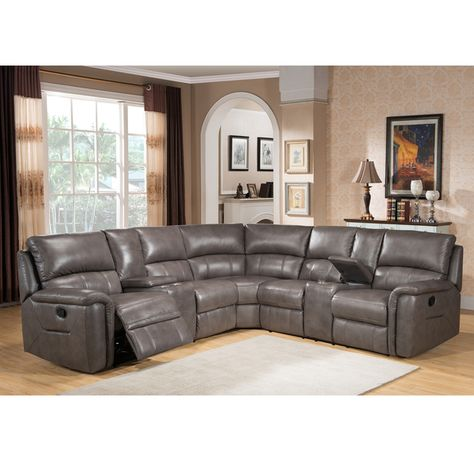 Overstock Com Online Shopping Bedding Furniture Electronics Jewelry Clothing More Sectional Sofa With Recliner Leather Reclining Sectional Reclining Sectional