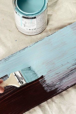 Paint And Distress Wood Furniture, How To Paint And Distress Wooden Furniture