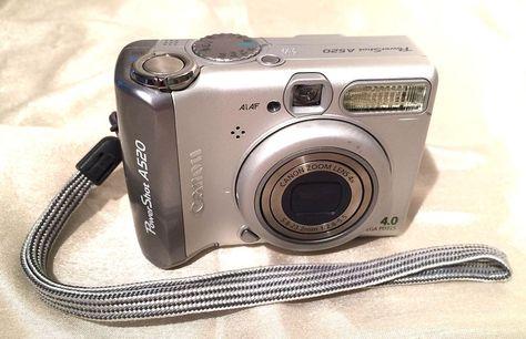 Canon powershot a520 / a510 instruction manual.