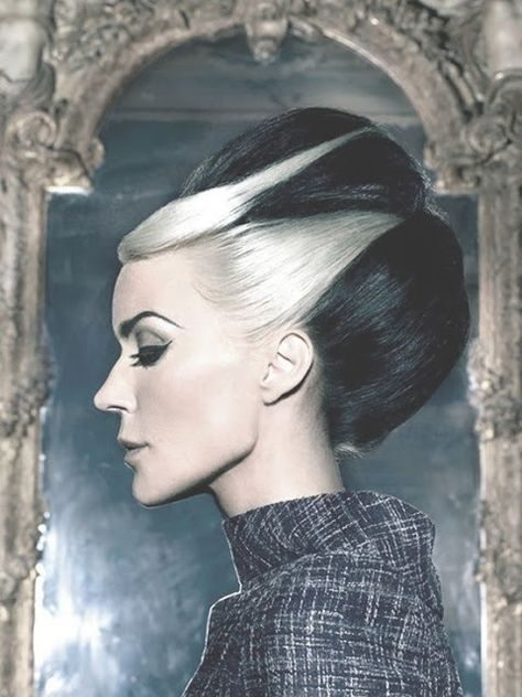 A month in hair colors! Today: black & white hairstyles! - The HairCut Web