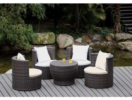 Mimbre y rattan para los muebles de jardín - 100 ideas   Muebles ...