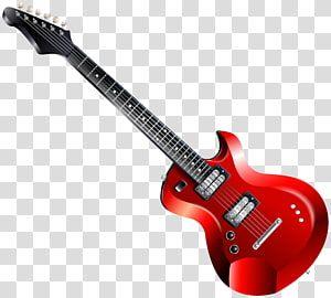 Electric Guitar Electric Guitar Transparent Background Png Clipart Guitar Red Electric Guitar Black Electric Guitar