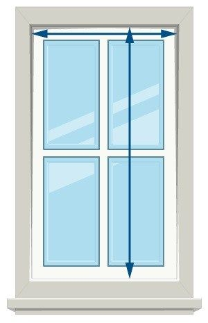 89 How To Measure Blinds Horizontal Blinds Blinds Diy Window