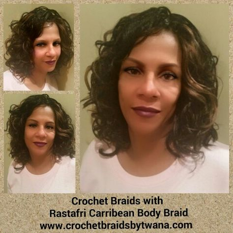 Crochet Braids By Twana on Pinterest Crochet Braids, Marley Hair an ...
