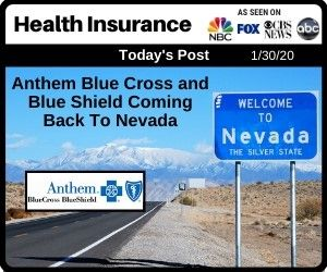 Anthem Blue Cross And Blue Shield Coming Back To Nevada In 2020