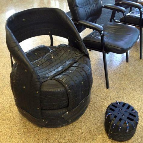 100 DIY Furniture From Car Tires DIY furniture, Tired and - couchtisch aus autoreifen tavomatico