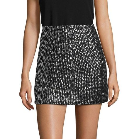 French Connection Women s Desiree Disco Skirt ( 158) ❤ liked on Polyvore  featuring skirts 4eaa16294e8