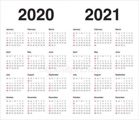 Year 2020 2021 Calendar Vector Design Template Stock Vector Aff Calendar Year Vector Stock Ad Calendar Vector 2021 Calendar Design Template